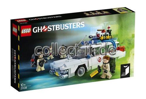 lego ghostbusters ecto 1 21108 neu ovp boxed. Black Bedroom Furniture Sets. Home Design Ideas