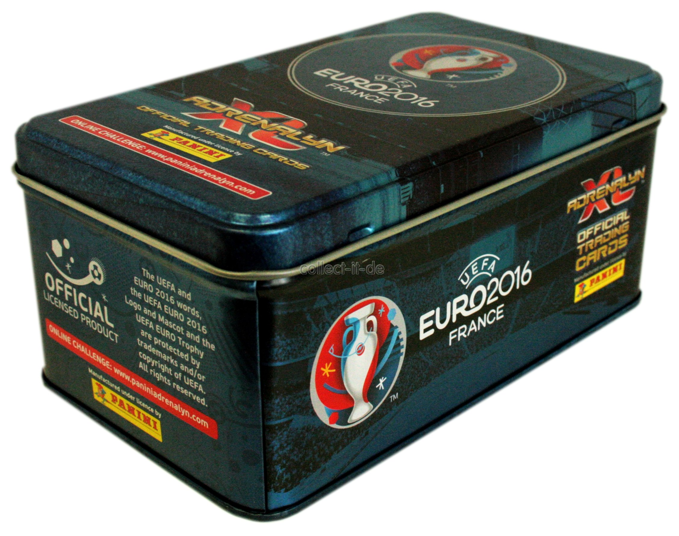 panini uefa euro france 2016 adr naline xl 1 tin box. Black Bedroom Furniture Sets. Home Design Ideas